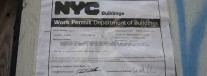 NYC building permit